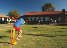 Lawn Cricket at Lord Somers Camp