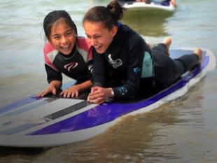 Aquatic activities at Lord Somers Camp